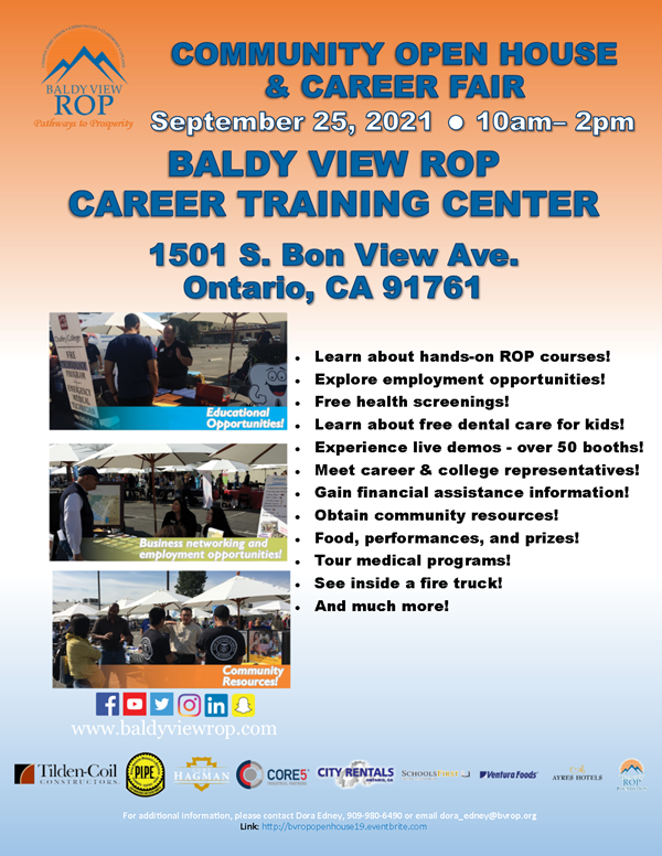 Community Open House and Career Fair